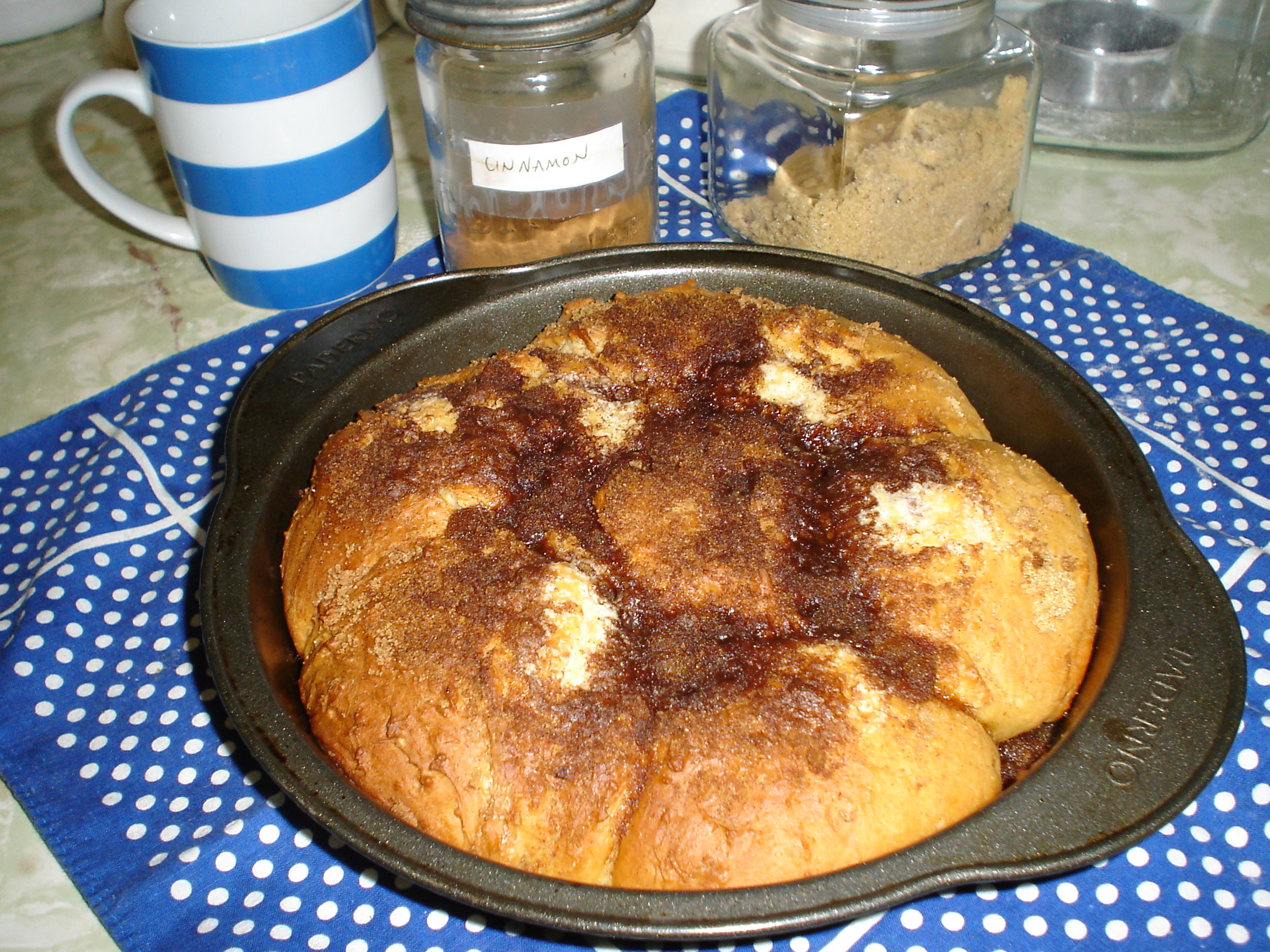 Amish Rhubarb Coffee Cake