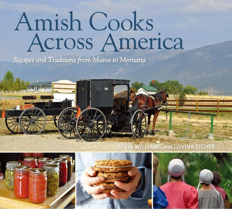 AMish Cooks Across America Cook Book
