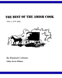 The Amish Cook Book 2