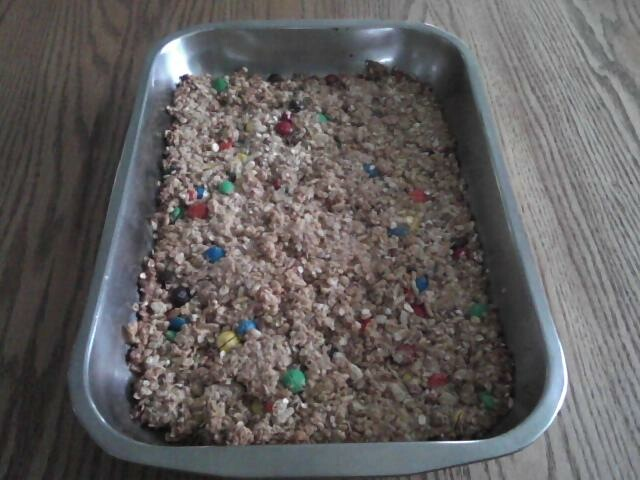 The Amish Cook: Gloria's Butterscotch Granola