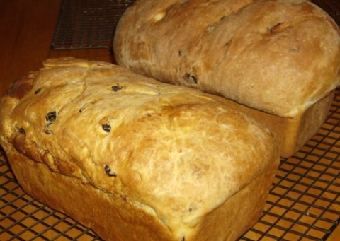 Updated: Classic Amish Raisin Bread