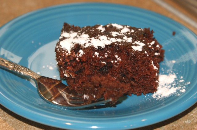 Amish Lazy Woman's Chocolate Cake