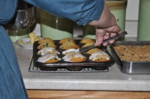 Maine Amish: Amish Lemon Blueberry Buttermilk Muffins