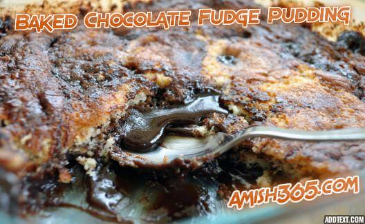 Updated: Baked Chocolate Fudge Pudding