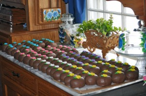 "Homemade Chocolate Crunch Easter ""Eggs"""