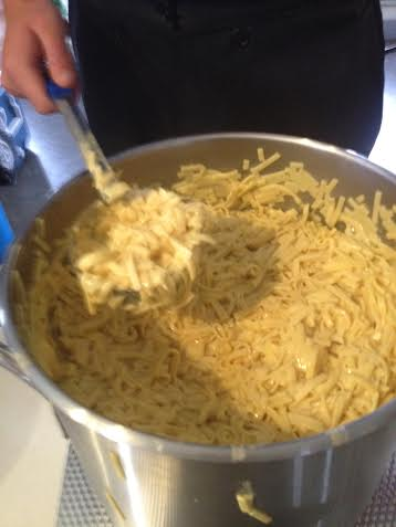 Delicious Amish homemade noodles