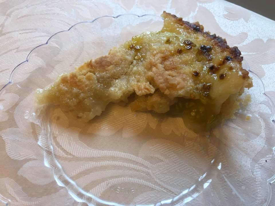 Tennessee Amish Green Tomato Pie