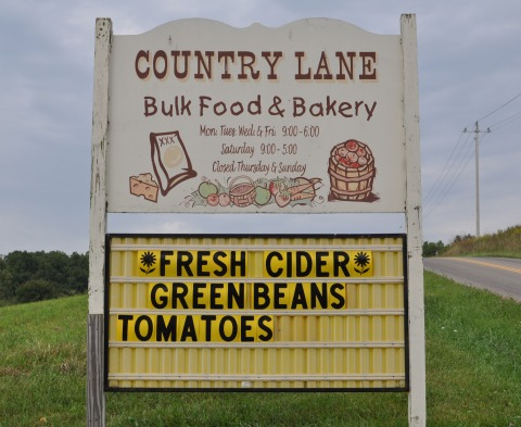 Amish Life Series: Country Lane Bakery and Bulk Food Store