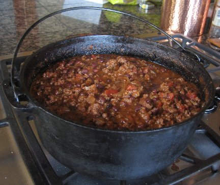 Mrs. Yoder's Journal: Sweet Farmhouse Chili