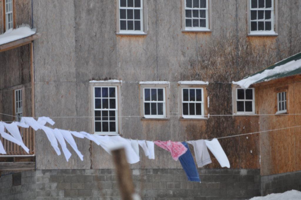 Amish Laundry Photo Mash-Up