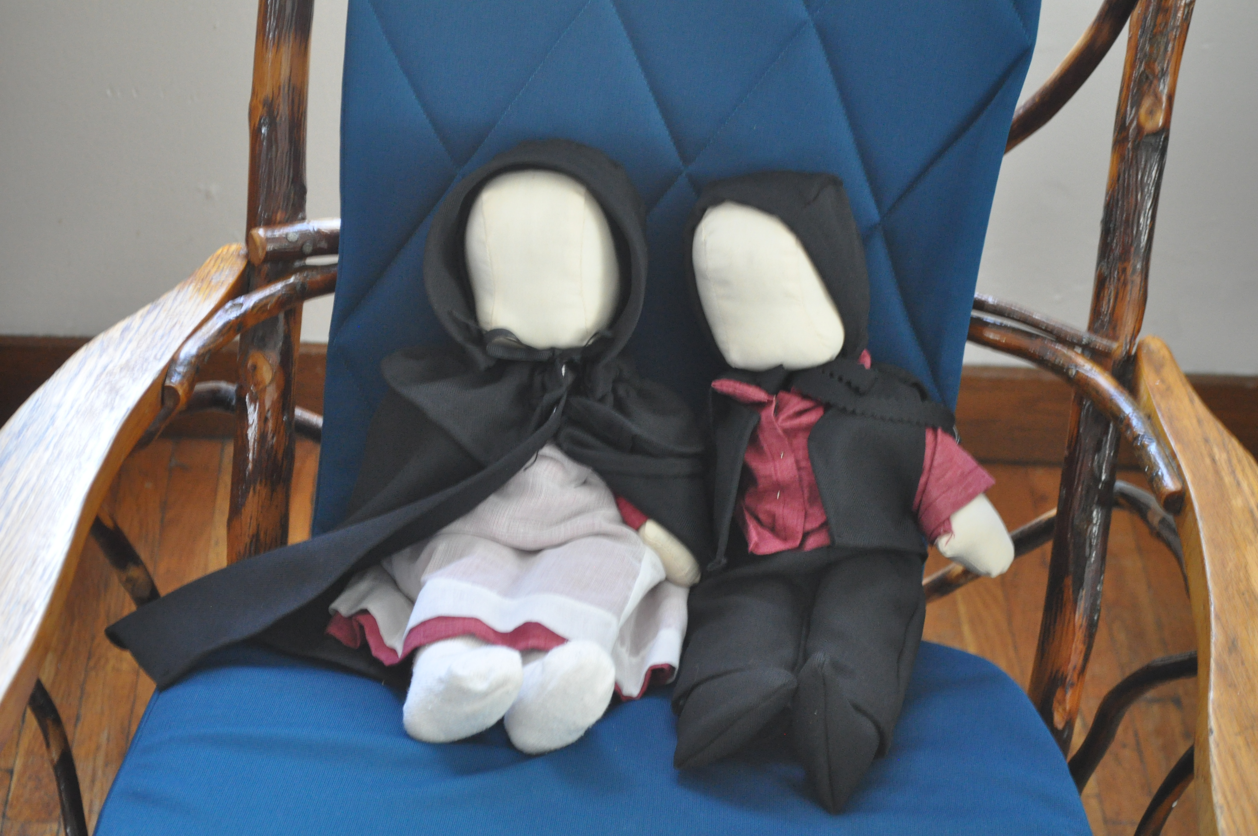Amish dollmaker