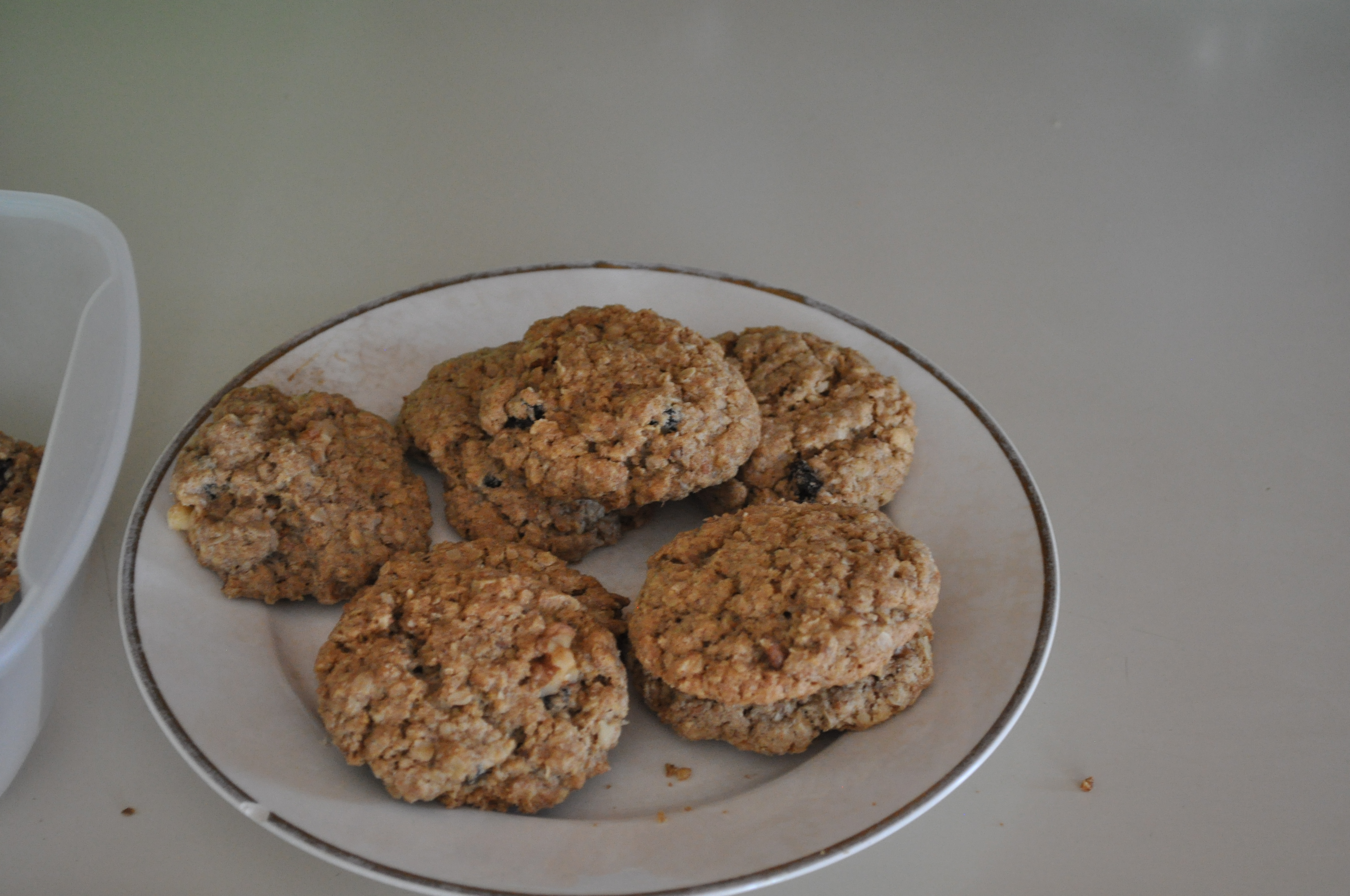 Amish Oatmeal Crisp Cookies
