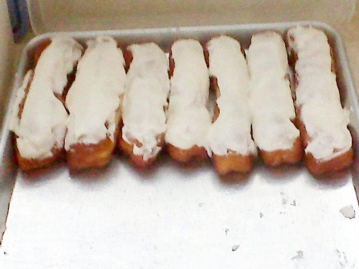 Baked Cream Sticks