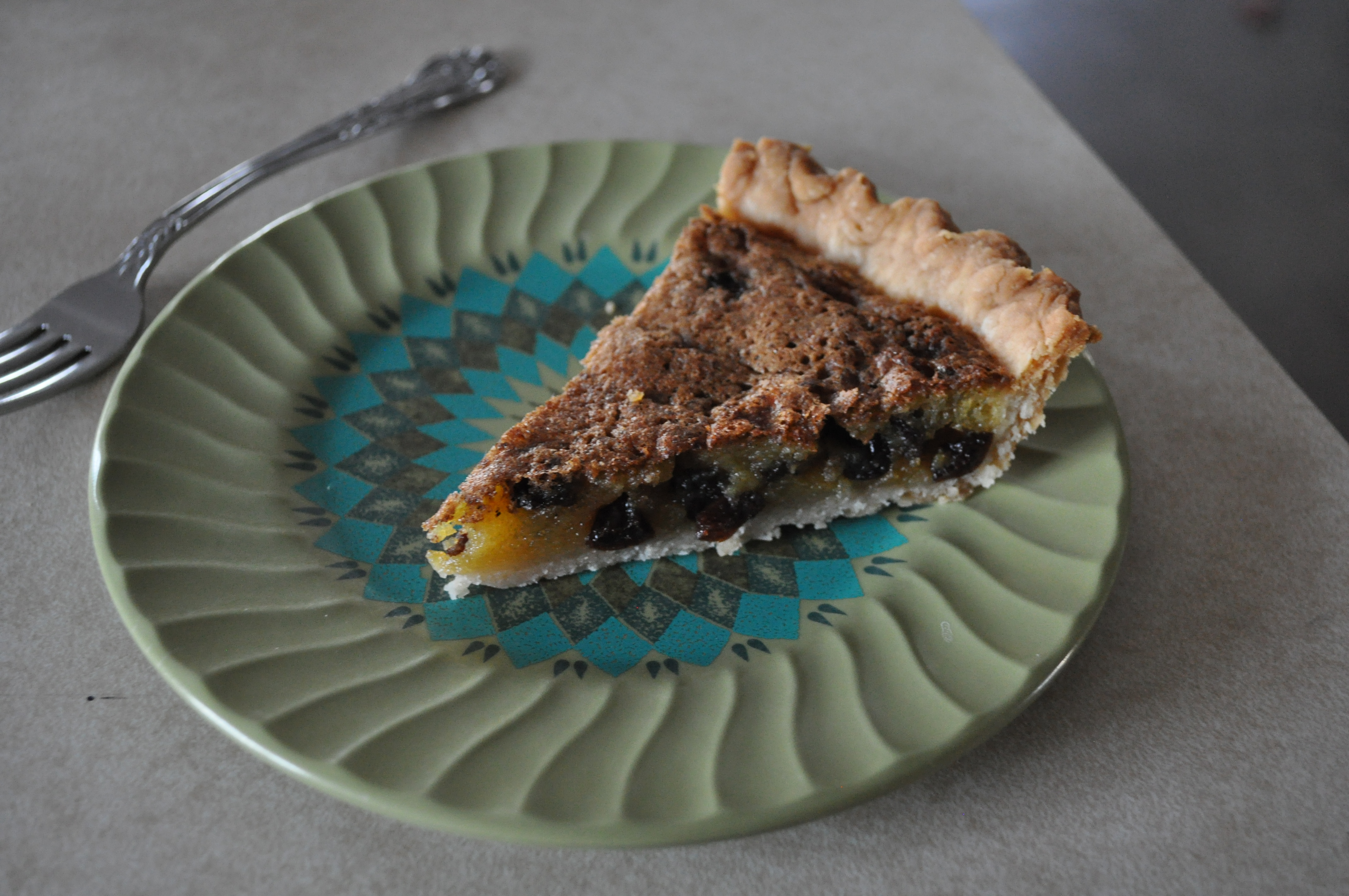 Raisin Cookie Pie