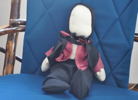 Faceless Doll: Amish and Islamic