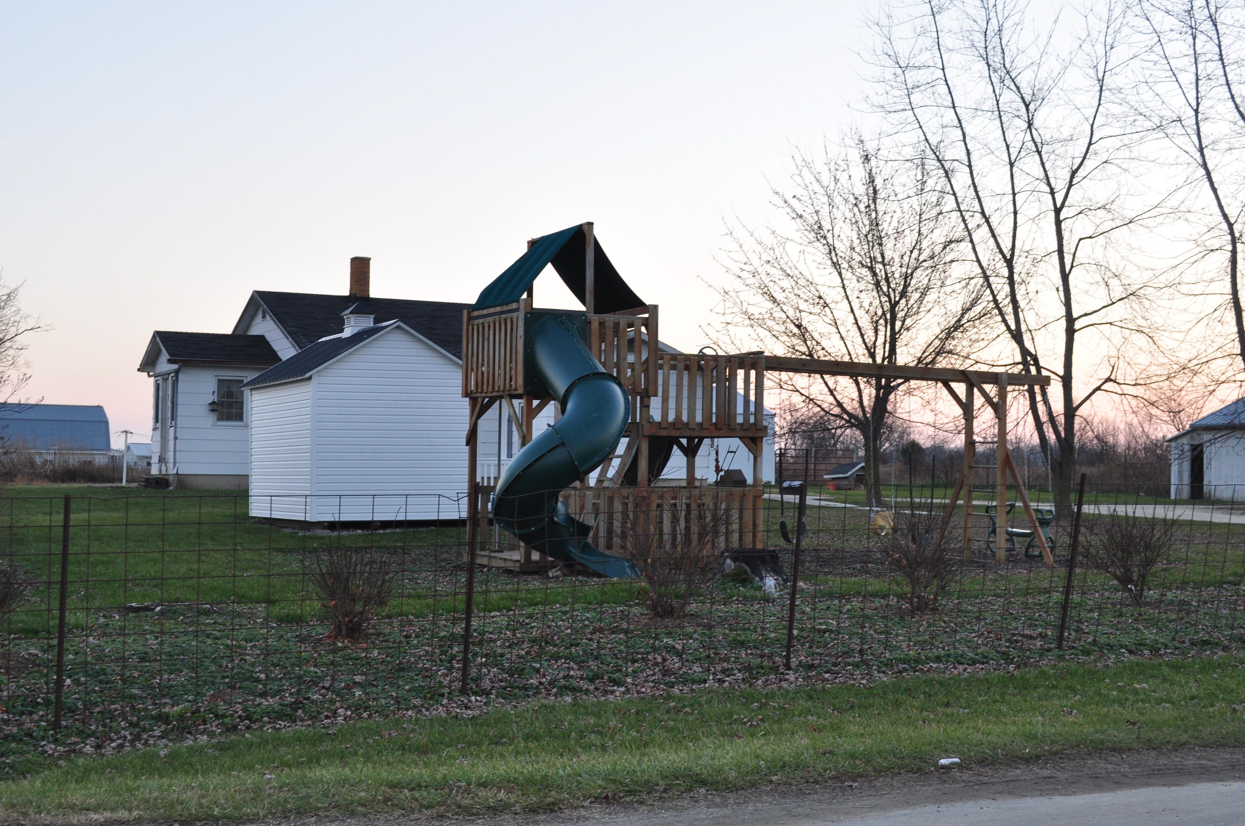 Amish playgrounds