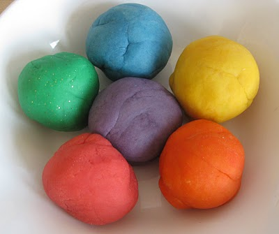 Easy Home Made Natural Play Doh