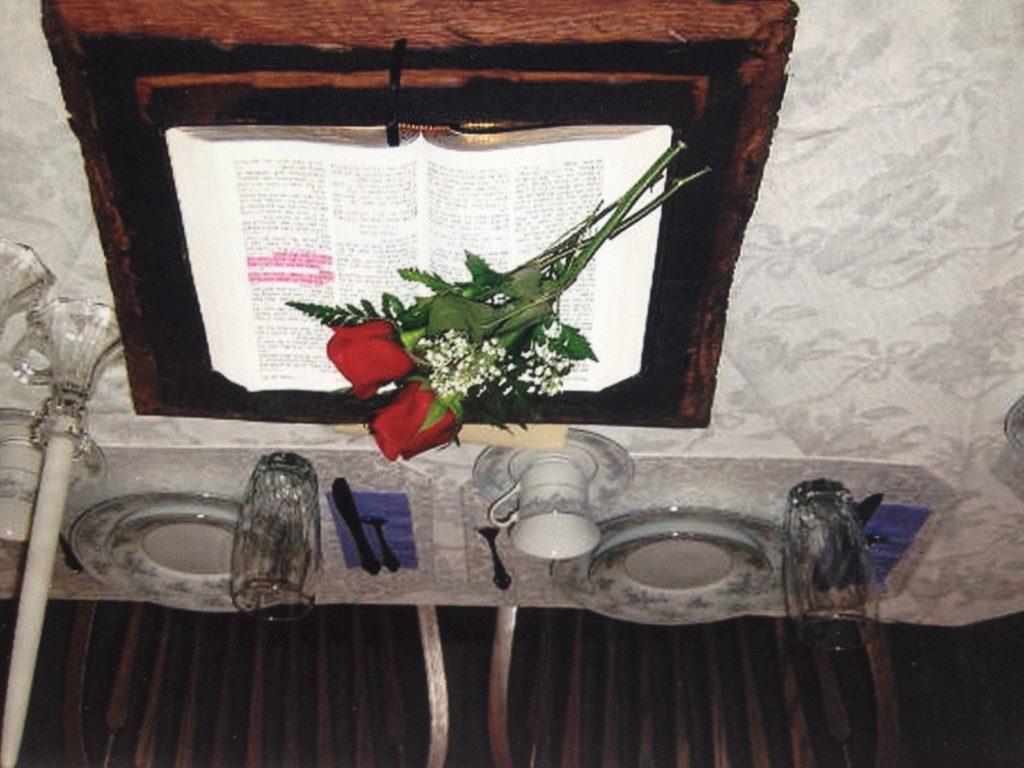 Amish Wedding Table