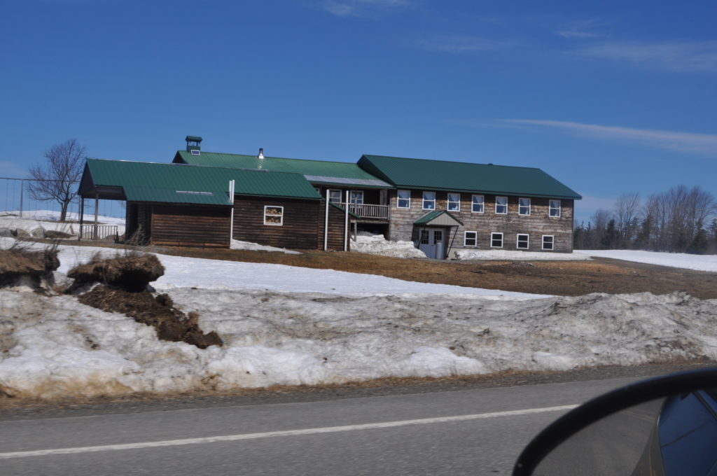 Amish school and some outbuildings in Smyrna