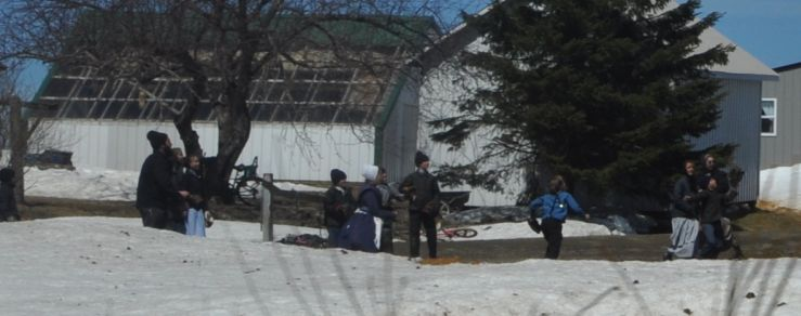 Amish Schoolyard