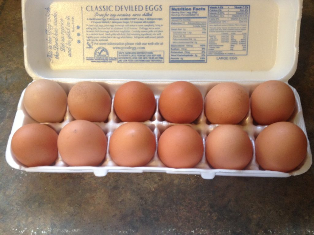 Fresh Amish Eggs