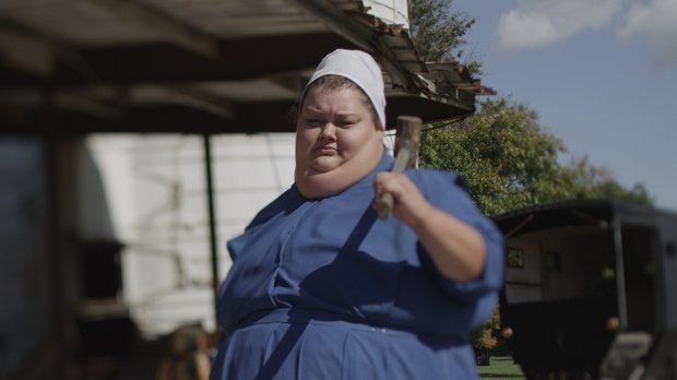 Mary Troyer From Amish Mafia. She Supposedly Grew Up In A Swartzentruber  Amish Settlement.