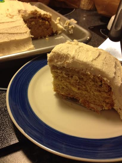 Jessica's Kitchen: Peanut Butter Banana Cake Revisited | Amish 365 ...