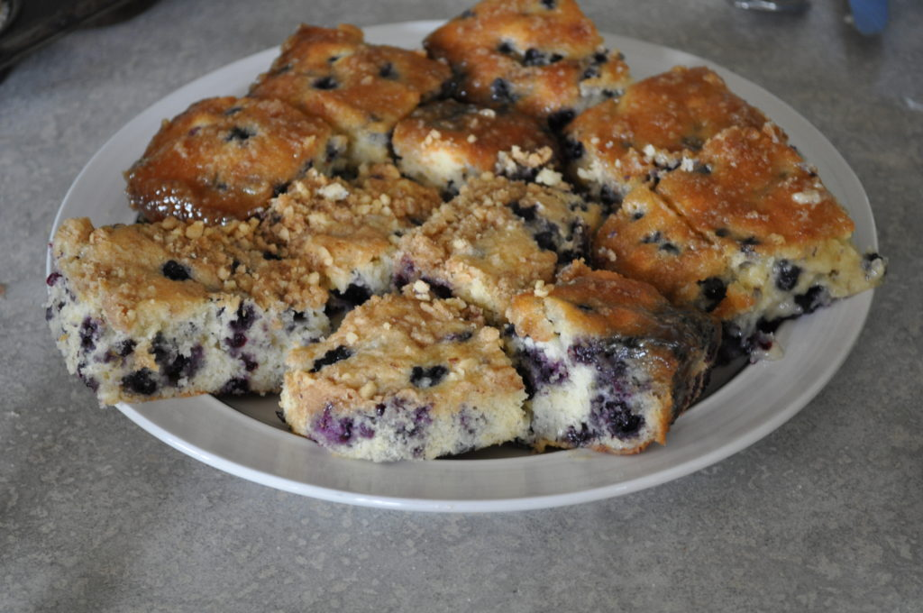 Melt In Your Mouth Blueberry Cake | Amish 365: Amish Recipes – Amish ...