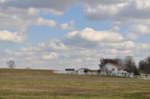 Amish farms dot the dolling hills of Adams County.
