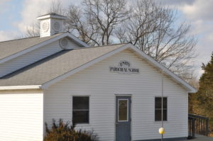 An Amish school in Adams County,Ohio