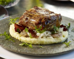 Amish Pork Dishes - Pork Shoulder & Mashed Potatoes