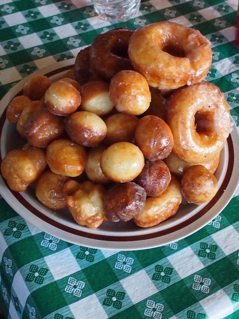 Rosanna's Homemade doughnut, recipe in an upcoming column!