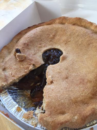 Old-Fashioned Amish Raisin Pie