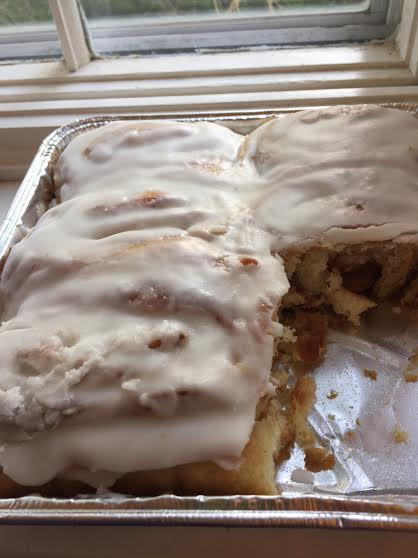 Amish Cinnamon rolls with Icing