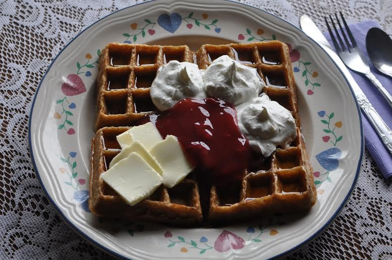 The Amish Cook:  Daniel's Waffles