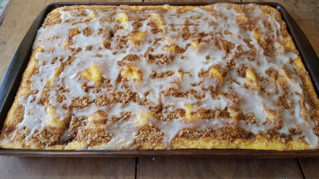 Fresh Amish Apple Cake Recipe