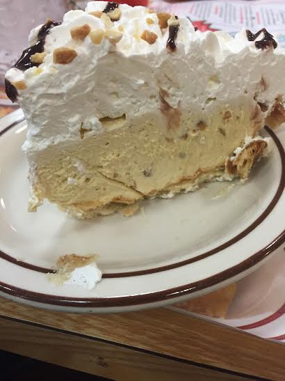 Frisch's Peanut Butter Pie, a perfect fine option, unless you've tried others......