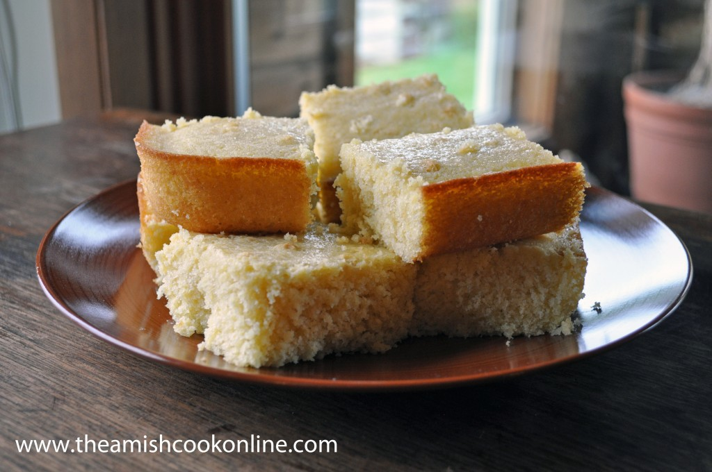 Buttery Cornbread is an Amish southern staple