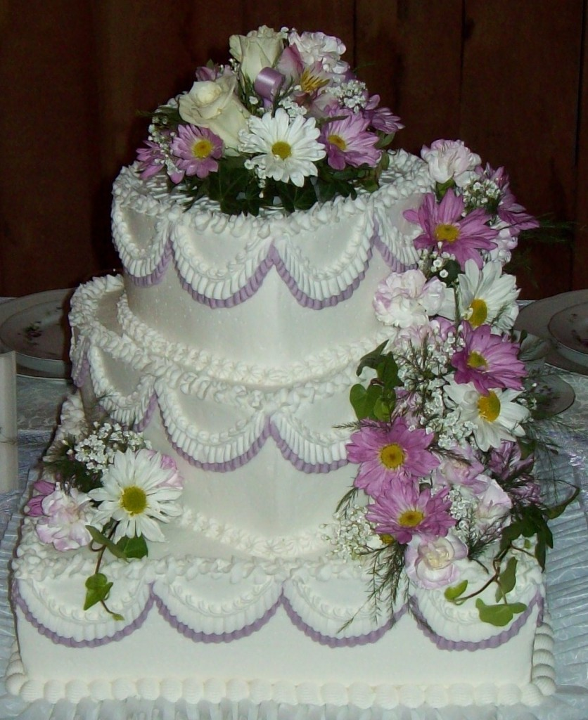 Amish Wedding Cake