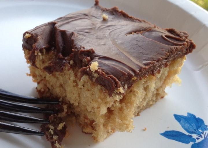 Amish Sour Milk Cake