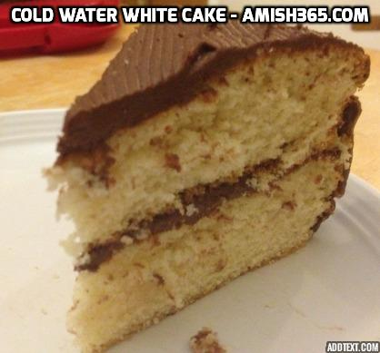 READER FAVORITE: Cold Water White Cake