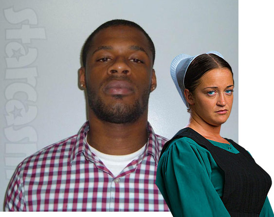 "Amish Mafia ""Star"" Esther Schmucker with her on-again, off-again boyfriend Imir Williams"