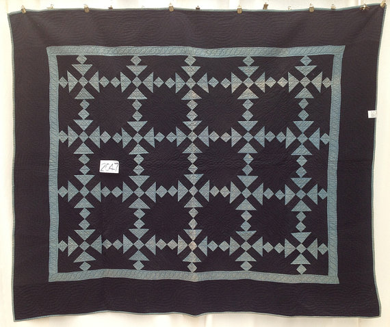 Interesting Amish quilt