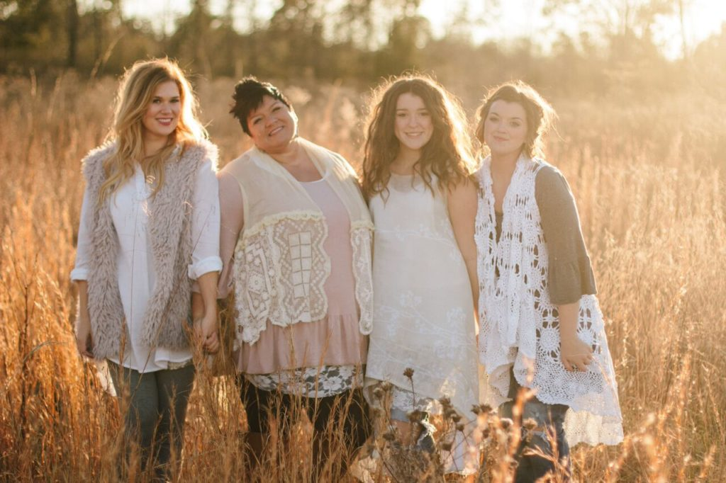 """Amish-made clothes in non-Amish styles, that is the premise behind """"Farmhouse Frocks"""", a collection of clothing made by 35 Amish and Mennonite seamstresses..."""