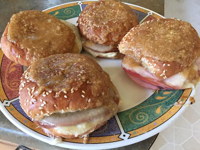 The Amish Cook: Hubby's Ultimate Ham and Cheese Sticky Buns