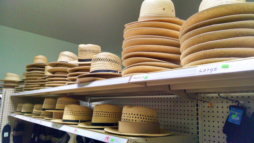 Hold on to your hat at this country store in Kalona, Iowa
