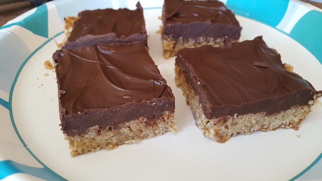 Homemade O'Henry bars, an Amish favorite!