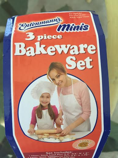 """This widely available set of """"baby bakeware"""" includes a cake pan, loaf pan and a mini-rolling in and is favored by Mennonite Moms in Dayton, Virginia"""