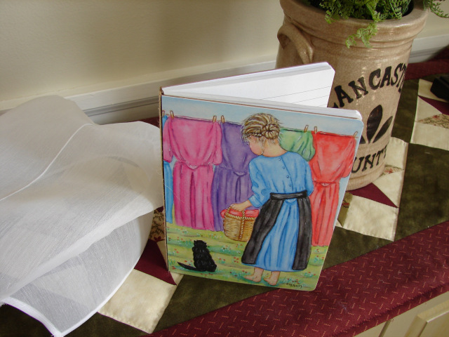 Record your thoughts in this Amish-themed journal....