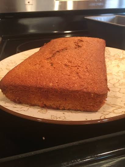 Review of Homemade Peach Bread